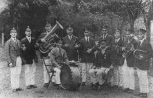 Der Musikverein Hegensdorf im Jahr 1920